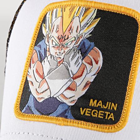 Dragon Ball Z - Casquette Trucker Majin Vegeta Blanc Noir