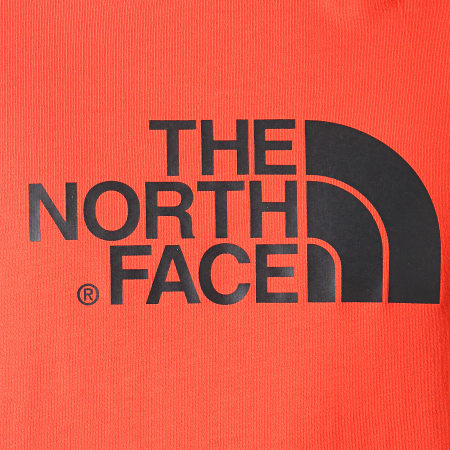 The North Face - Tee Shirt Raglan Easy 37FV Rouge Noir