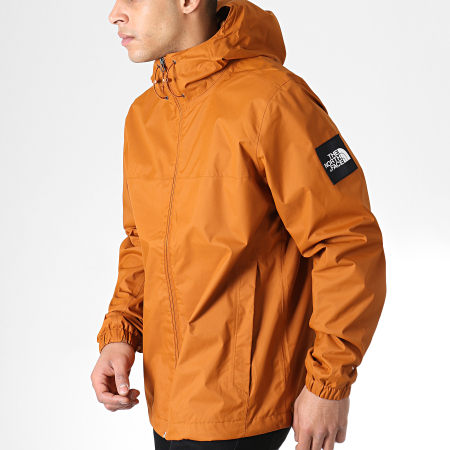 The North Face - Veste Zippée Capuche Mountain Q Marron