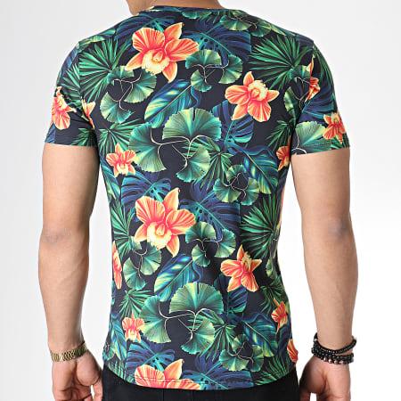 MTX - Tee Shirt TM0100 Vert Floral