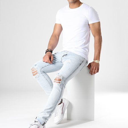 Denim Lab - Jean Slim 12676 Bleu Wash