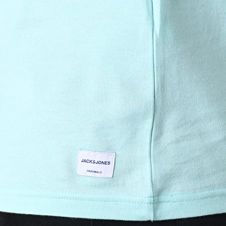 Jack And Jones - Tee Shirt Quinn Bleu Clair