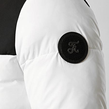 Final Club - Doudoune Premium Big Puffa Noir Blanc
