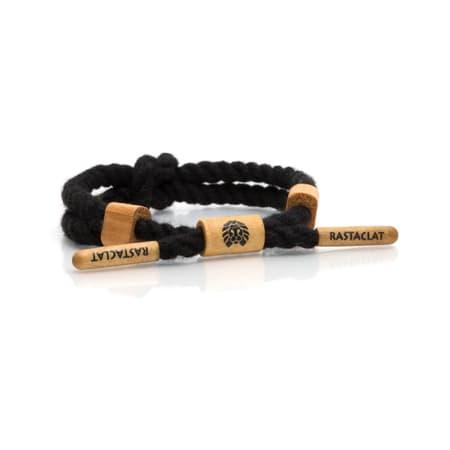 Rastaclat - Bracelet Baloo Noir