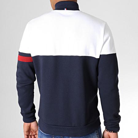 Le Coq Sportif - Veste Tricolore FZ N7 1911621 Bleu Marine Blanc Rouge