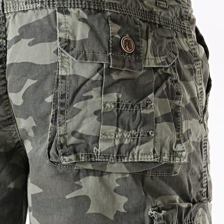 MTX - Short Cargo 1817 Vert Kaki Clair Camouflage