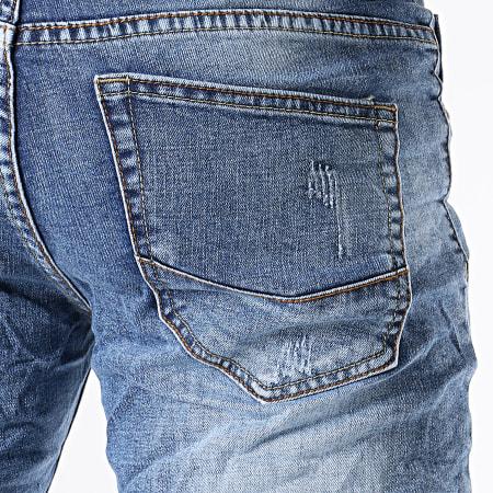 MTX - Short Jean Slim N0036 Bleu Denim