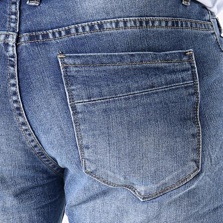 MTX - Short Jean Slim N0051 Bleu Denim