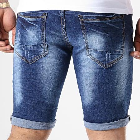 MTX - Short Jean Slim E6871 Bleu Denim