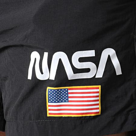 NASA - Short De Bain USA Noir