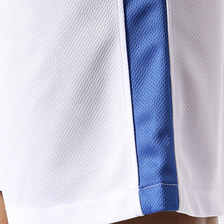 Okawa Sport - Short Olive Et Tom New Team 1 Blanc Bleu Roi