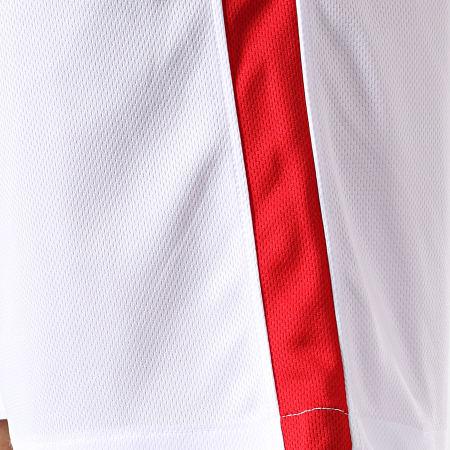 Okawa Sport - Short Olive Et Tom New Team 2 Blanc Rouge