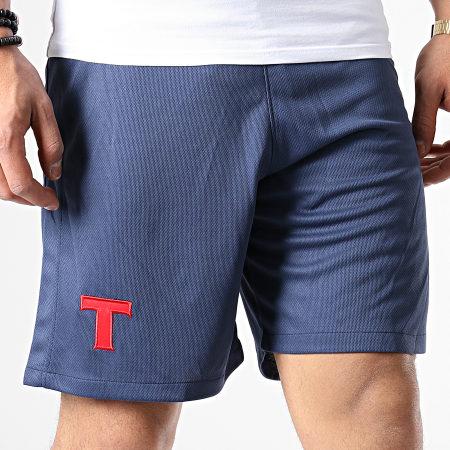 Okawa Sport - Short Olive Et Tom Toho Bleu Marine
