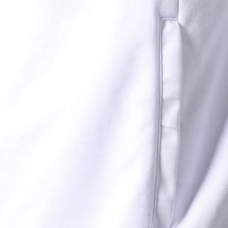 Okawa Sport - Veste Zippée A Bandes Olive Et Tom New Team 1 Blanc Bleu Roi