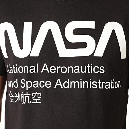 NASA - Tee Shirt Glow In The Dark Noir
