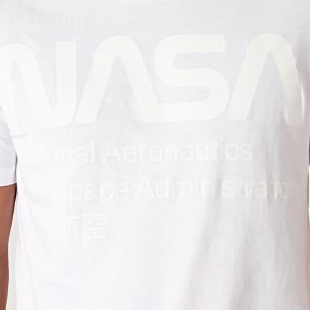 NASA - Tee Shirt Glow In The Dark Blanc