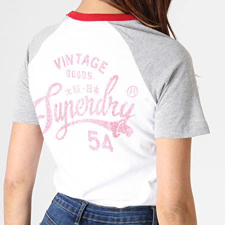 Superdry T shirt à manches raglan 54 Goods pour Femme