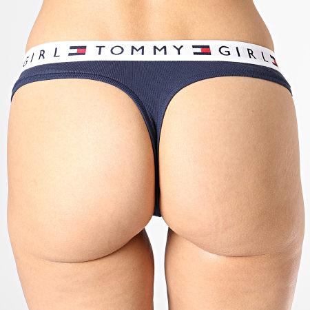 Tommy Hilfiger - String Femme 1572 Bleu Marine
