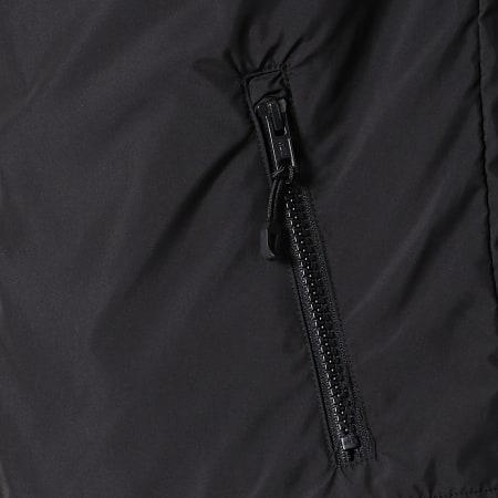 Urban Classics - Veste Zippée Capuche TB2107 Rouge Noir