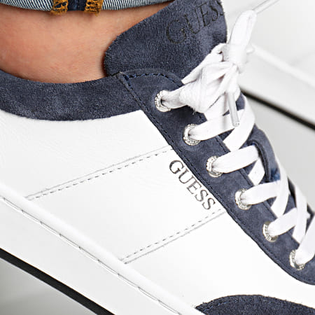 Guess - Baskets FM7THMSUE12 White Navy