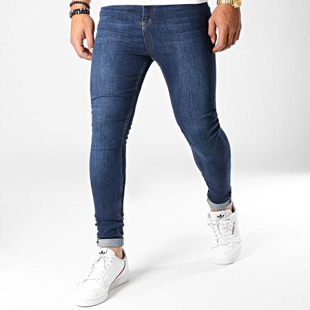 LBO - Jean Super Skinny Fit 794 SS-2A Denim Bleu Foncé