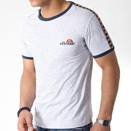 Ellesse - Tee Shirt 1031N Bande Gris Chiné
