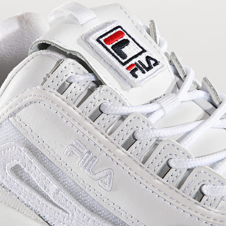 Fila - Baskets Femme Disruptor II Patches 5FM00538 White