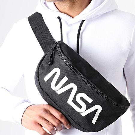 NASA - Sacoche Banane Big Worm Logo Noir