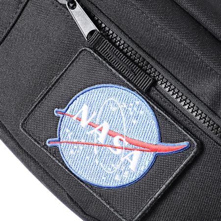 NASA - Sacoche Banane Velcro Noir