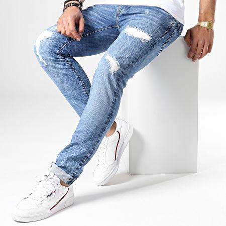 Pepe Jeans - Jean Slim Hatch PM200823WU72 Bleu Denim