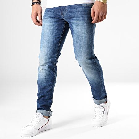 Pepe Jeans - Jean Slim Hatch PM200823GI92 Bleu Denim