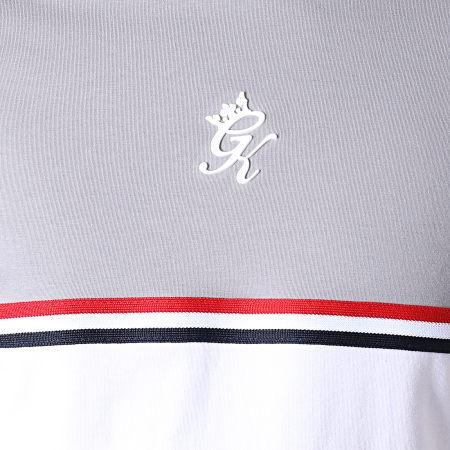 Gym King - Tee Shirt Gilchrist Gris Blanc Rouge Bleu Marine