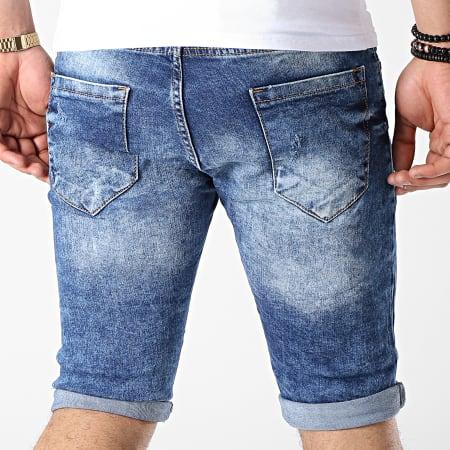 Classic Series - Short Jean 6025 Bleu Wash