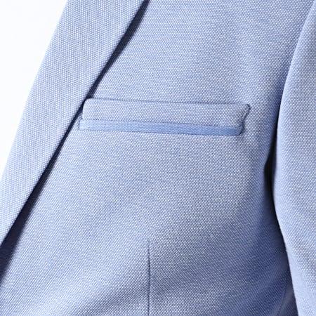 Classic Series - Veste De Costume SD808 Bleu Clair
