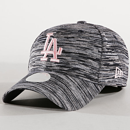 New Era - Casquette Femme 9Forty Engineered Fit Los Angeles Dodgers Noir Chiné