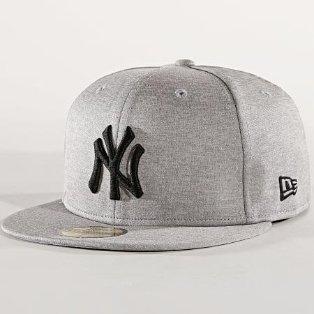 New Era - Casquette 59Fifty Shadow Tech New York Yankees Gris Chiné