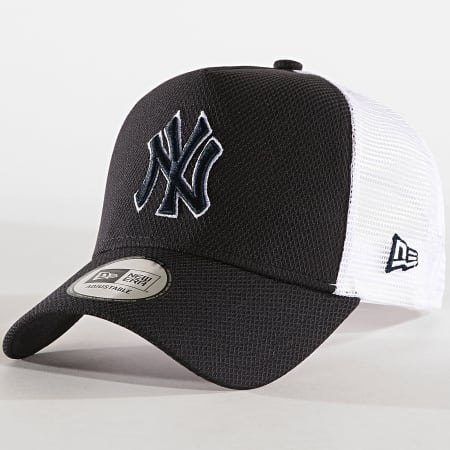 New Era - Casquette Trucker Diamond Era New York Yankees Bleu Marine