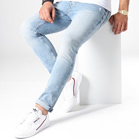 Tommy Hilfiger Jeans - Jean Slim Scanton Heritage 6361 Bleu Wash