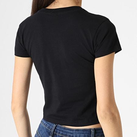 Urban Classics - Tee Shirt Crop Femme TB2754 Noir