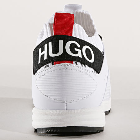 HUGO by Hugo Boss - Baskets Hybrid Runn 50411282 Blanc