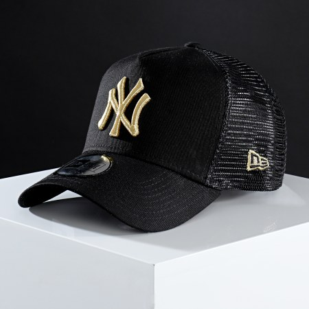 New Era - Casquette Trucker 9Forty LaBoutique New York Yankees Noir Or