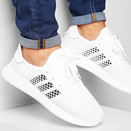 adidas - Baskets Deerupt DA8871 Footwear White Core Black Grey Two