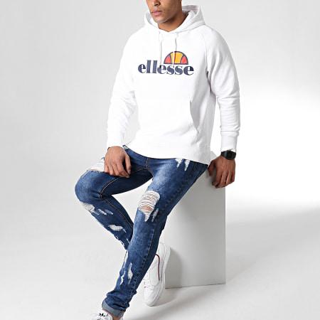 Ellesse - Sweat Capuche 1032N Blanc