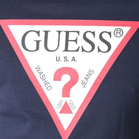 Guess - Tee Shirt M93I56K8FQ0 Bleu Marine