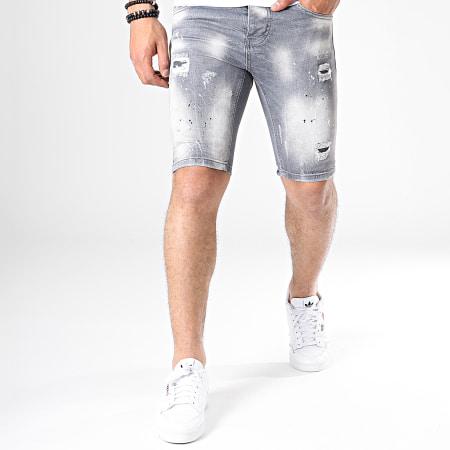 Uniplay - Short Jean Skinny 062 Gris