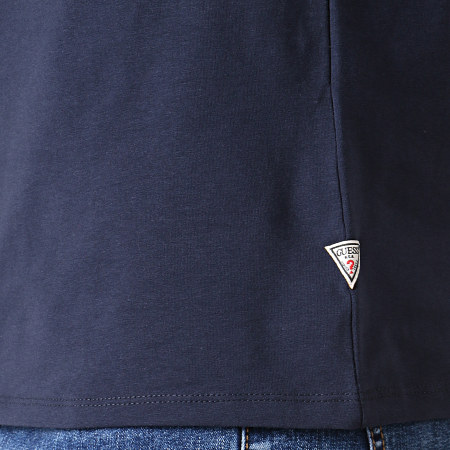 Guess - Tee Shirt M93I55J1300 Bleu Marine