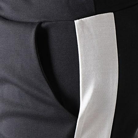 MTX - Pantalon Jogging A Bandes TM0052 Noir Blanc