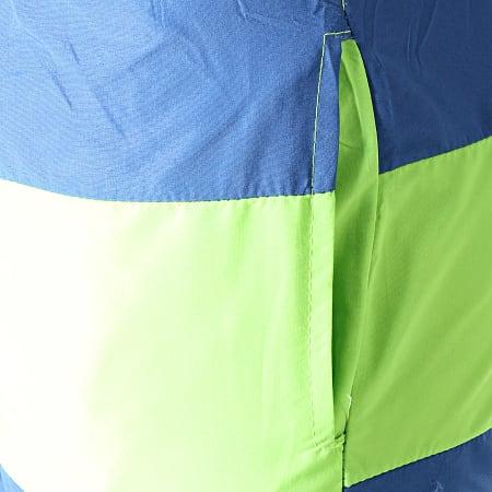 MTX - Short De Bain 6723 Bleu Vert Fluo