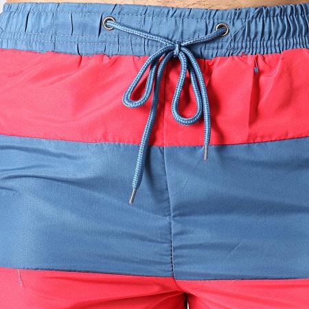 MTX - Short De Bain 6723 Bleu Rouge