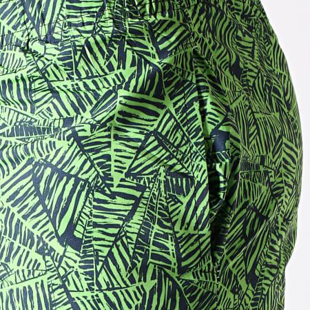 MTX - Short De Bain 6730 Vert Noir